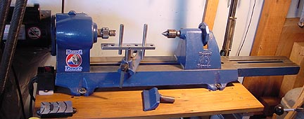 record wood lathe